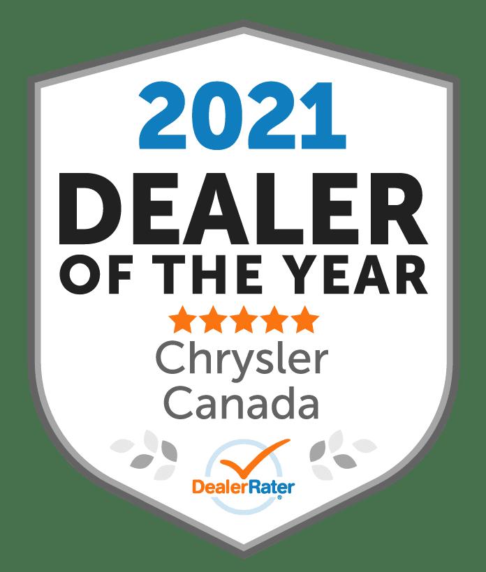 best chrysler dealer award