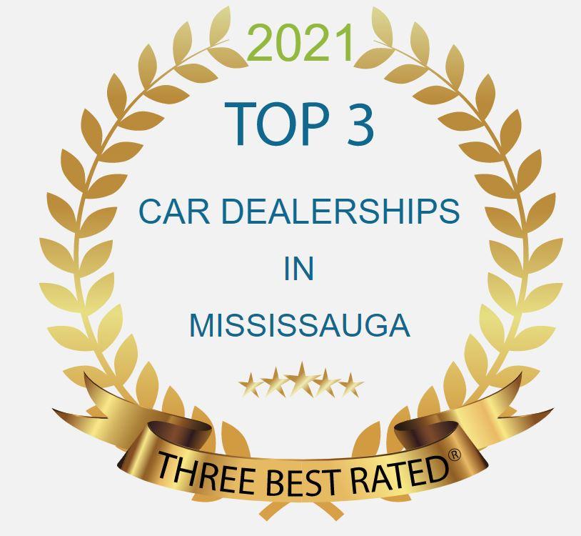 top 3 dealership award